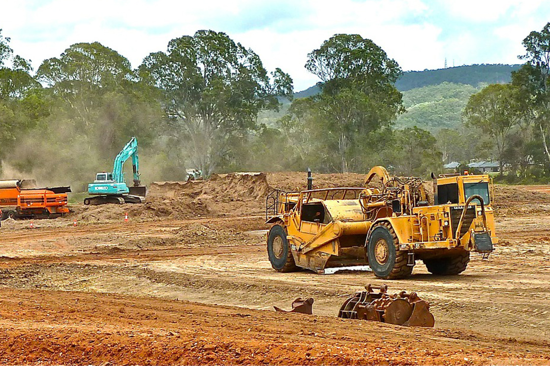 Precise Ground Preparation With Earthmoving Equipment